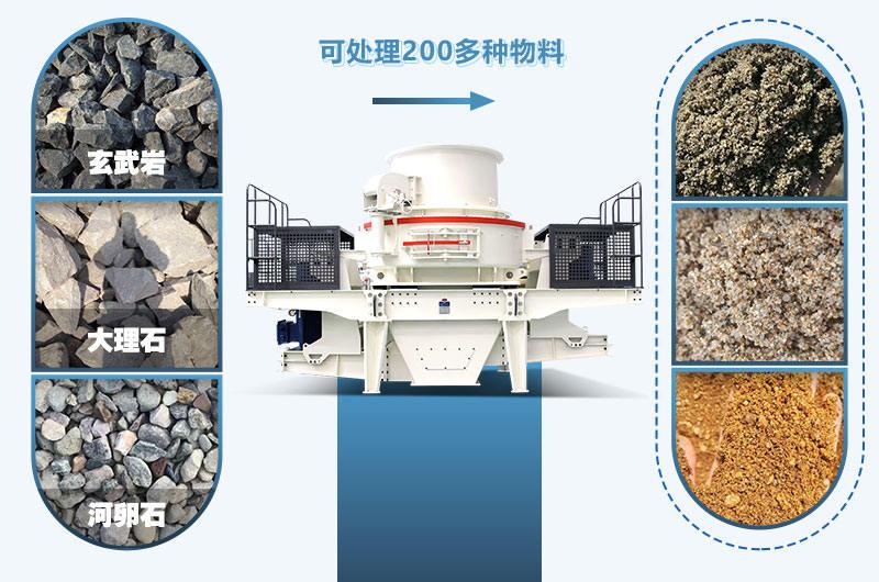 制砂机的应用广泛